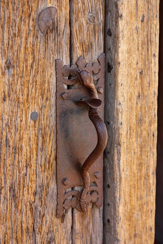 Door Handle at San Xavier Mission