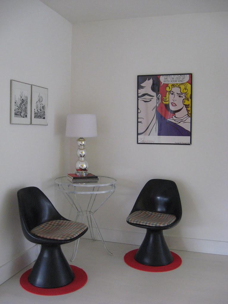 Living Room - Cat Corner