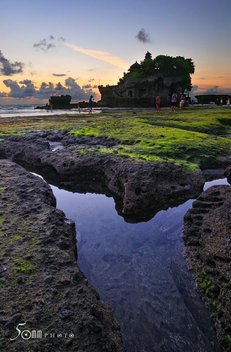 Храм Пура Танах Лот (Бали, Индонезия). Фото / Tanah Lot temple. Photo