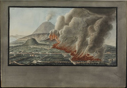 Plate 12, Mt. Vesuvius eruption 1760 December 23