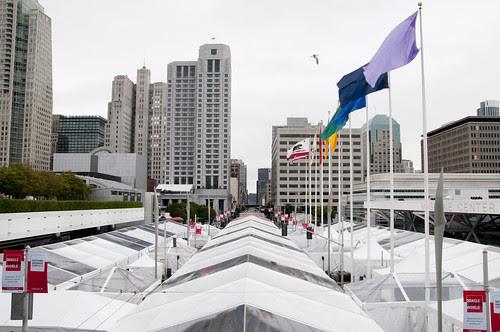 Howard Street Tents, Oracle OpenWorld & JavaOne + Develop 2010