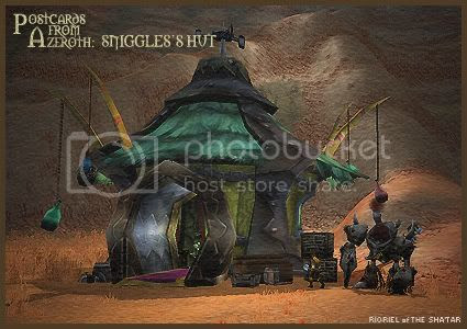 Postcards of Azeroth: Sniggles's Hut, by Rioriel Ail'thera