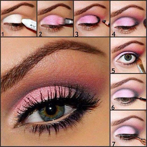 15 Easy Step By Step Valentine's Make Up Tutorials For ...