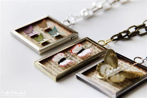 Butterfly Jewelry Specimen Pendants