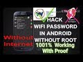How To Hack Wifi Without Root App