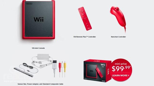 Wii Mini officiellt avslöjad