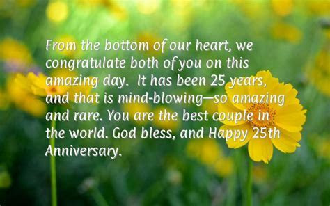 25th Wedding Anniversary Quotes Happy. QuotesGram