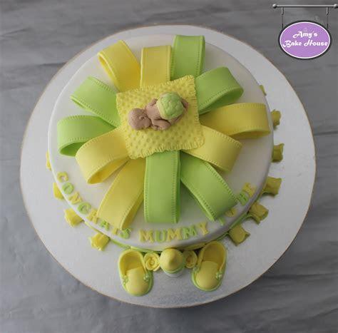 Baby Shower Lemon Cake   Amy's Bake House