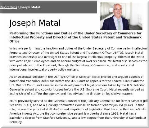 Joseph Matal