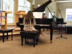 Sophia at Spring Recital