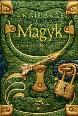 Couverture Magyk, tome 2 : Le grand vol