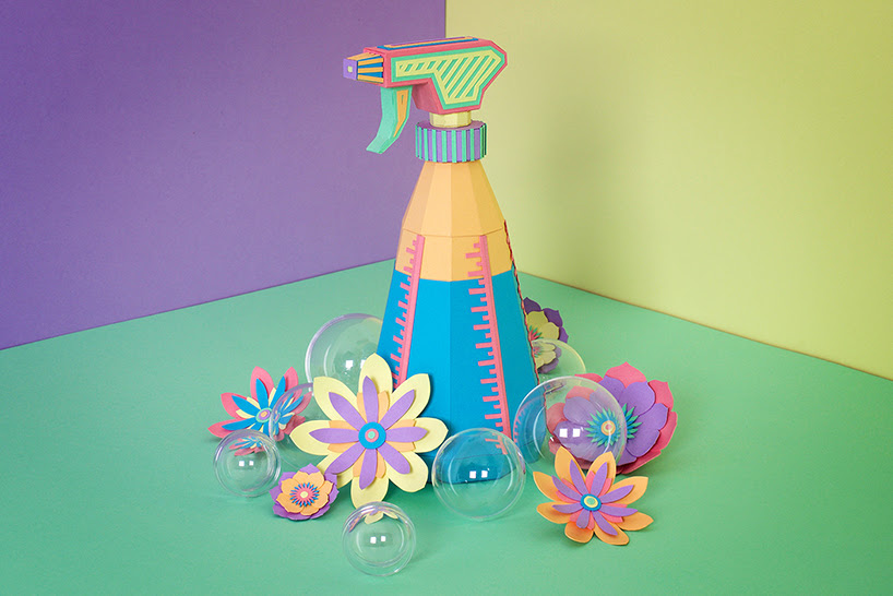 zim & zou springs into the season with vibrant papercraft cleaning supplies