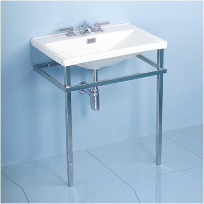 Toto Lloyd Metal Console Bathroom Sink Set & Reviews | Wayfair