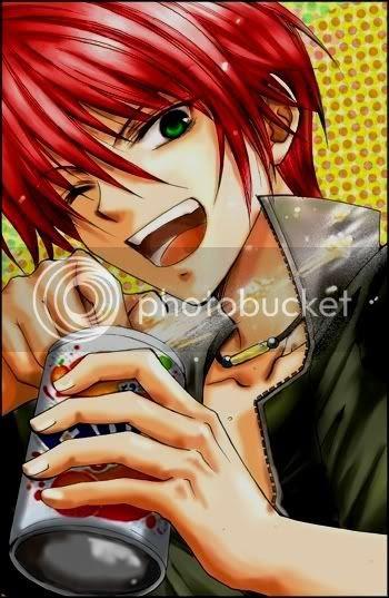 Anime Red Hair Blue Eyes