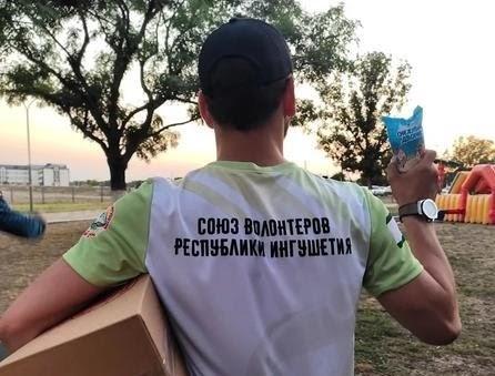 Союз волонтёров Ингушетии организовал благотворительную акцию «Сладость врадость»