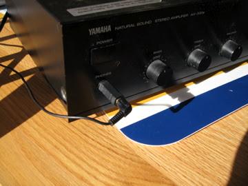 Headphone Socket on Amp