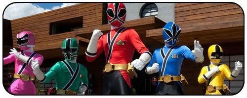 Power Rangers Samurai Estreia em Julho na Nickelodeon