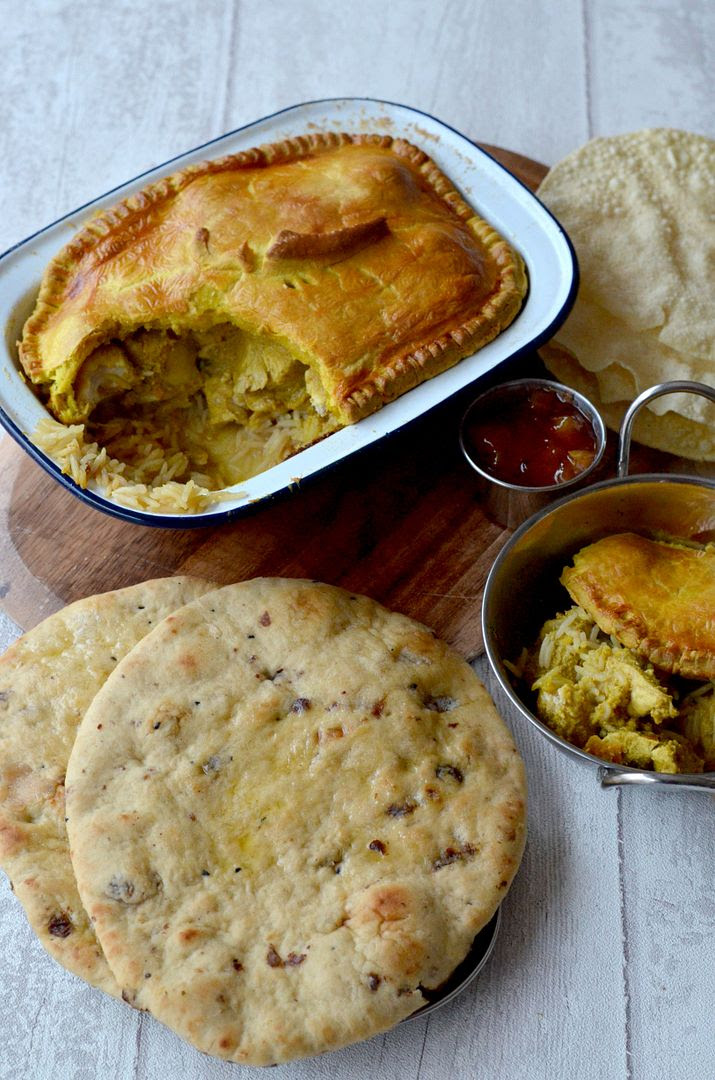 Chicken Korma Pie