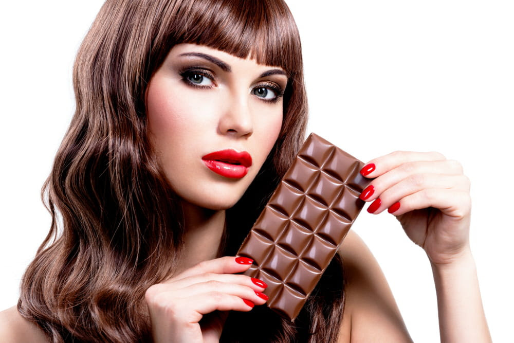Colore Meches cioccolato su capelli castani scuri [FOTO] Donnaclick - capelli color cioccolato al latte