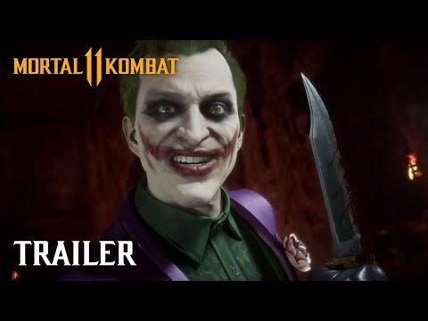 Вышел геймплейный трейлер с Джокером в Mortal Kombat 11