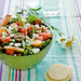 Minty Watermelon and Peach Feta Salad by Meeta K. Wolff