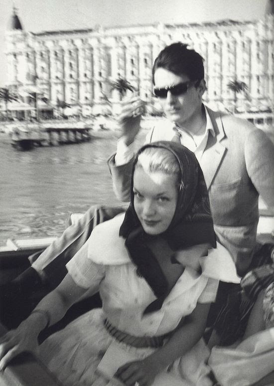 gelsominas: Romy Schneider and Alain Delon in Cannes, photographed by Claude Azoulay http://25.media.tumblr.com/dd54cfd3a29f4fdde651219956c3a08e/tumblr_mjppjzG0Wm1qhep2vo1_1280.jpg