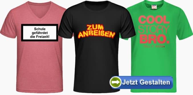 T Shirts Mit Spruch Bedrucken Sprüche Shirts Selbst Gestalten