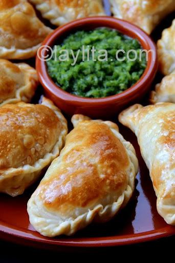 Empanadas de champiñones al horno de Laylita.com