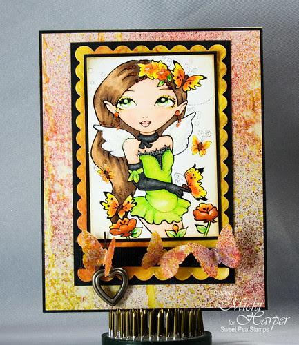 Butterfly Fairy Plate 34
