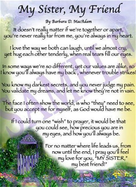 Sister Poems   Affordable Inspirational Poem for Sister