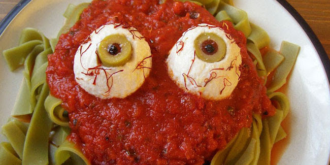Eyeball-Pasta