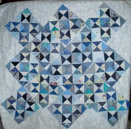 Blue star blocks