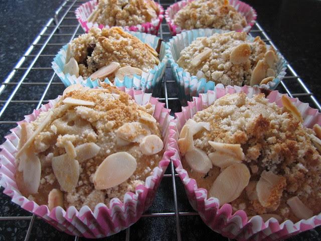 apple, raisin and cinnamon muffins (5)