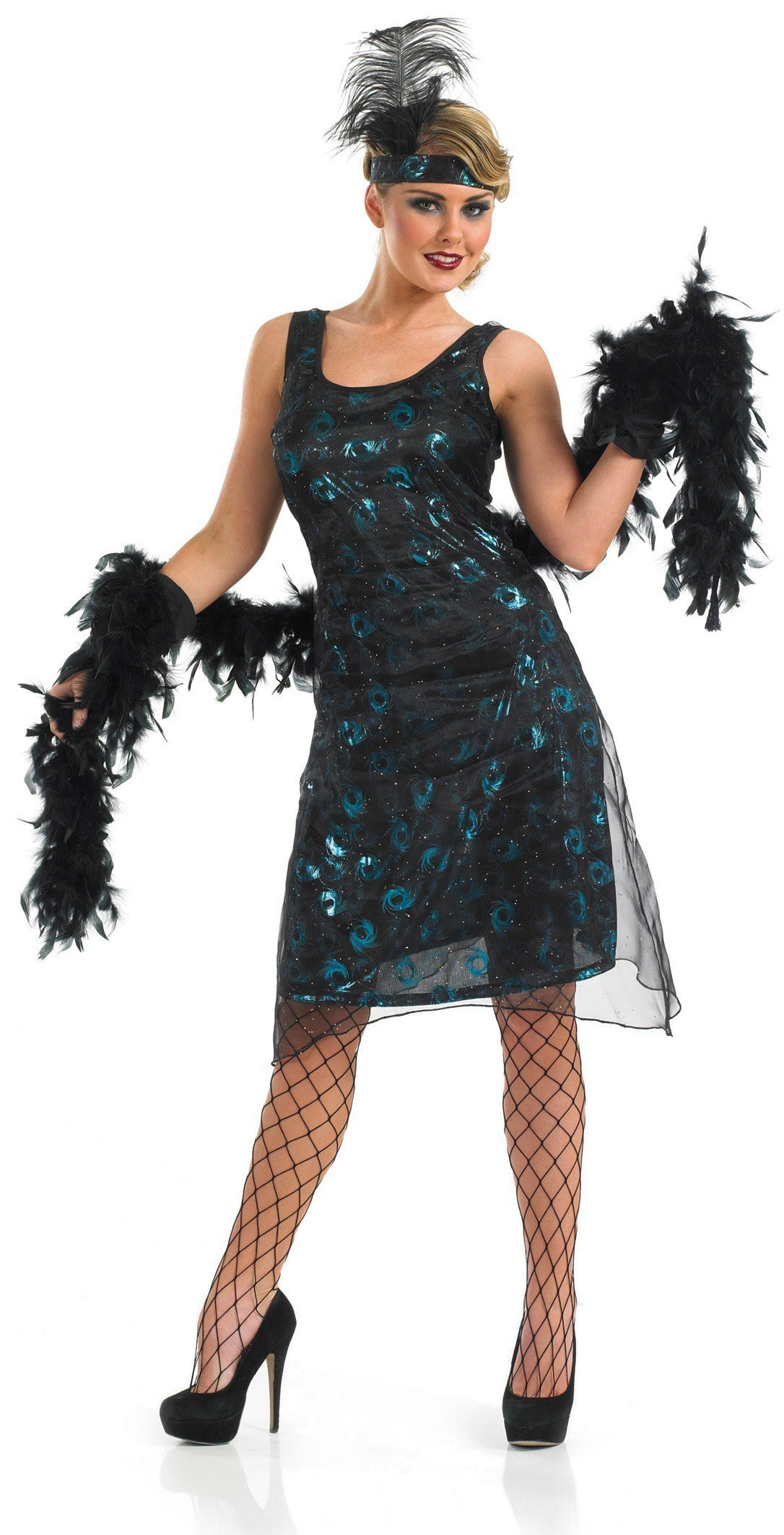 ladies 1920's party dress