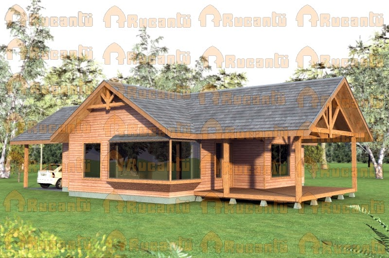 Casas de madera prefabricadas casas prefabricadas en temuco - Casa de madera prefabricadas ...