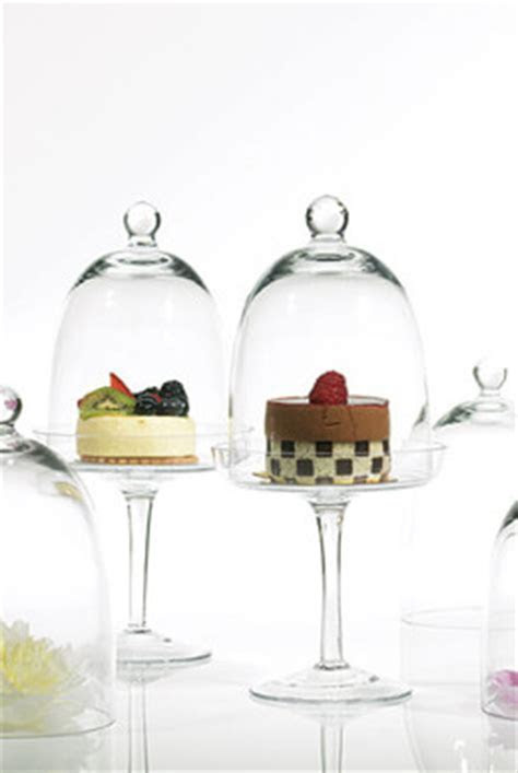 """Krave Dessert Stand and Dome 6"""" x 13"""""""