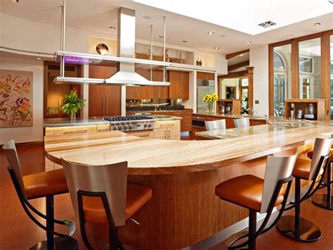 larger kitchen islands pictures ideas tips  hgtv