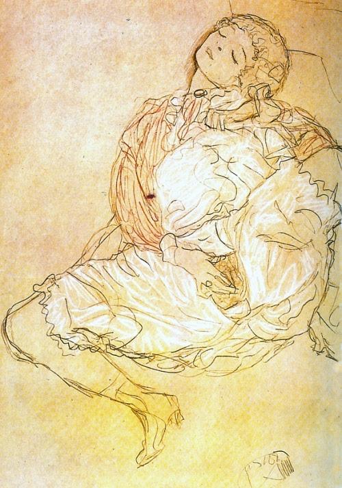 Gustav Klimt erotica sensual6
