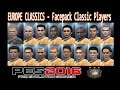 PES 2016 Classic Player Facepack
