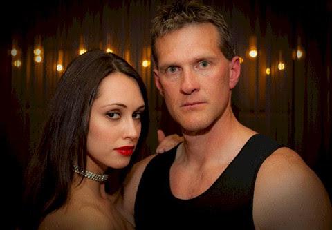 James Houston Turner's spy hero, Aleksandr Talanov, and his wife, Andrea.