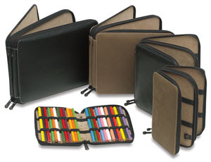 Global Classic Leather Pencil Cases