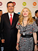 Madonna at the opening of the Hard Candy Fitness center, Mexico 32