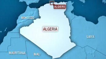 A map of Algeria where the government has been accused of supporing the Libyan government against the counter-revolutionary rebels that are financed, coordinated and trained by US and other western imperialist countries. by Pan-African News Wire File Photos
