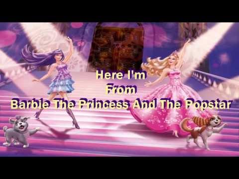 Here I Am Lyrics Princess And The Popstar