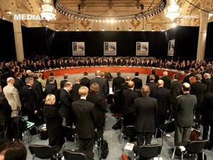 Summit-ul NATO la Bucureşti (Imagine: Mediafax Foto)