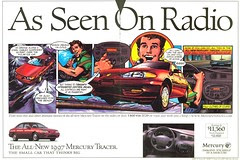 comics ad - Mercury Tracer