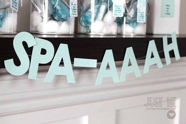 spa-aaaah party.