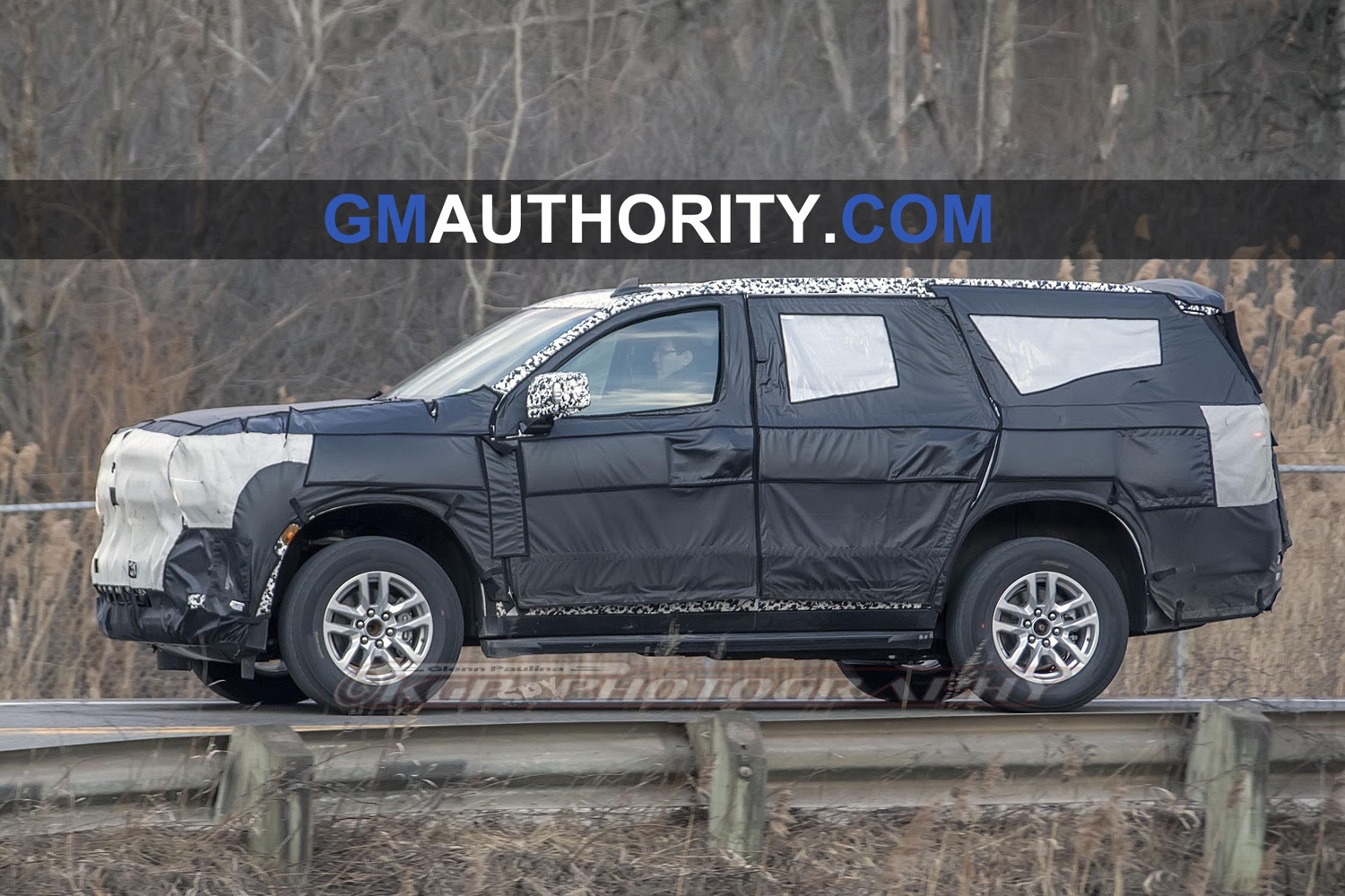2020 chevrolet suburban caught wearing production lights