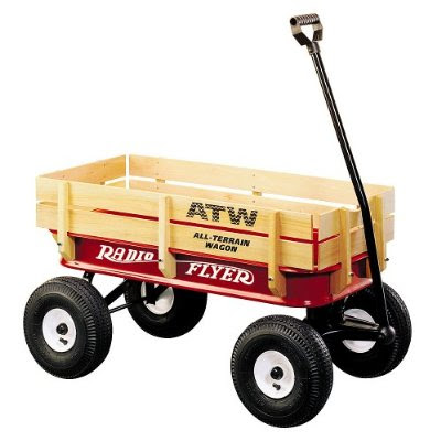 Product Image   Radio Flyer All-Terrain Steel and Wood Wagon