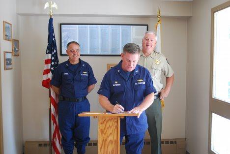 James B. McPherson, Coast Guard Sector Northern New England Commander,